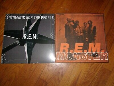 R.E.M. - Lot Of 2 Orig U.S. 1992/1994 Warner Bros Records Promo Album Flats • 7.15£