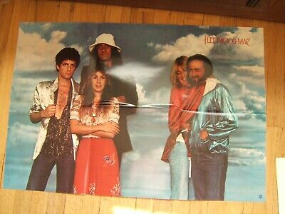 Vintage 1978 Music Record Store Promo Poster Fleetwood Mac  • 14.31£