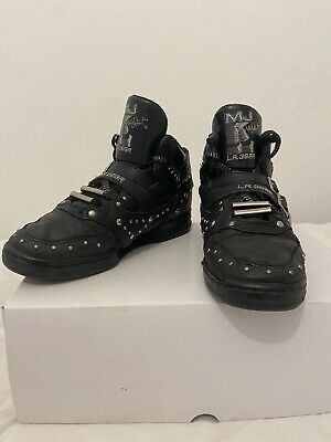 Michael Jackson Rare Vintage Collectable LA Gear Leather UK Size 7 Shoes • 0.99£
