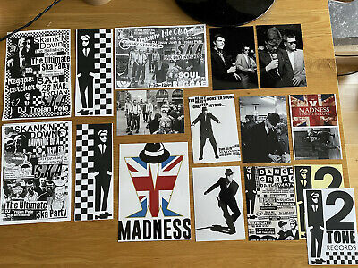Madness Prints & Flyers/ Specials/ Ska/ Two Tone/ Skinhead/ Oi/ Beat/rejects/ • 4.99£