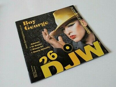 Boy George DJW Magazine Argentina March 2011 In EXC Condition Culture Club  • 5.50£