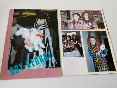 Boy George Culture Club - Lot Of 14 Magazine Clippings Cuttings Japan • 5.50£