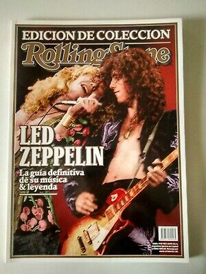 Led Zeppelin - Rolling Stone Argentina 2014 Collector Edition EXC Cond 100 Pages • 14.10£