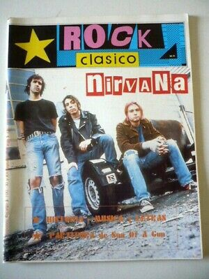 Nirvana - Special Magazine Chile Complete EXC Cond VERY RARE Kurt Cobain Grunge • 20.90£