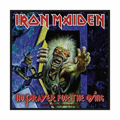 IRON MAIDEN No Prayer For The Dying 2021 Official WOVEN SEW ON PATCH Sealed • 3.95£