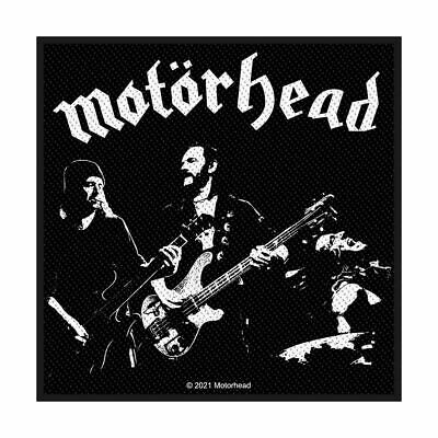 MOTORHEAD LEMMY Band 2019 Official Merchandise WOVEN SEW ON PATCH • 3.95£