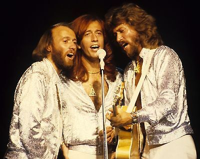 Bee Gees 10  X 8  Photograph No 1 • 3.50£