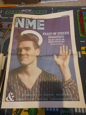 The Smiths/Morrissey, NME Cover + Interview, 8th 1985June • 10£