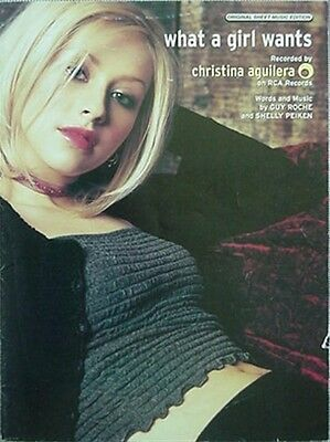 Christina Aguilera Sheet Music, 1999 - What A Girl Wants • 7.94£