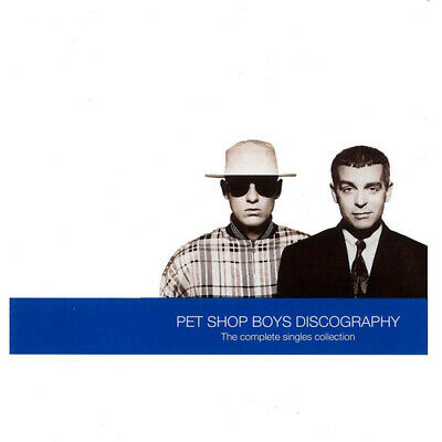 Pet Shop Boys : Discography: The Complete Singles Collection CD (1991) • 2.98£