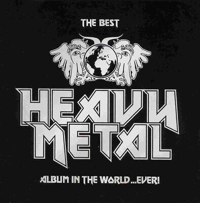 Various Artists : The Best Heavy Metal Album In The World...Ever! CD 2 Discs • 1.99£