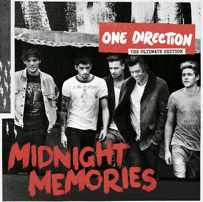 One Direction : Midnight Memories CD Ultimate  Album (2013) Fast And FREE P & P • 2.63£