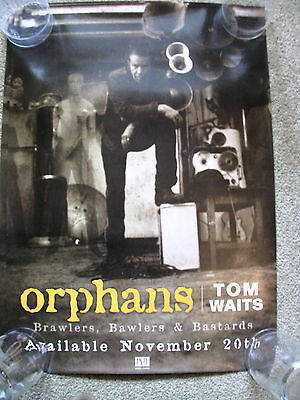 Tom Waits - Orphans - PROMO POSTER • 6.99£
