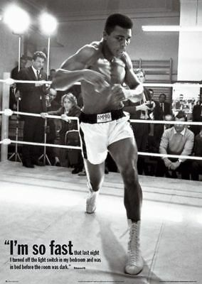 I'm So Fast Muhammad Ali In Training Poster (16 X20 )  • 3.99£