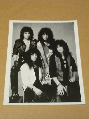 Kiss 10 X 8 1988 Agency Publicity Photo • 10£