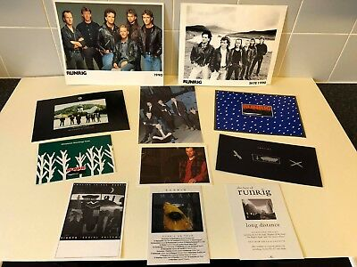 Runrig Memorabilia - Variety Of Items - Christmas Cards, Newsletters, Pictures • 200£
