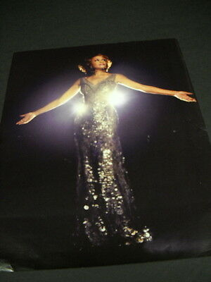 WHITNEY HOUSTON Arms Spread - Looking Upward 2012 PROMO POSTER AD • 7.90£