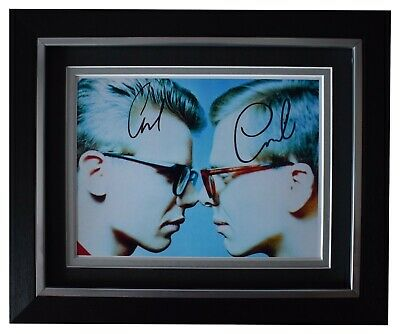 The Proclaimers Signed 10x8 Framed Photo Autograph Display Music AFTAL COA • 54.99£