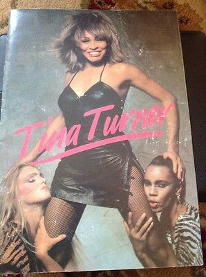 Very Rare Tina Turner Uk Tour 1984 Programme Let's Stay Together  Ca2 • 50£