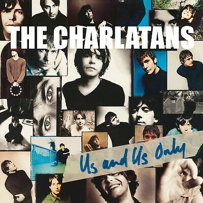 The Charlatans - Us & Us Only Vinyl LP Transparent RSD Reissue Edition New 2019 • 17.99£