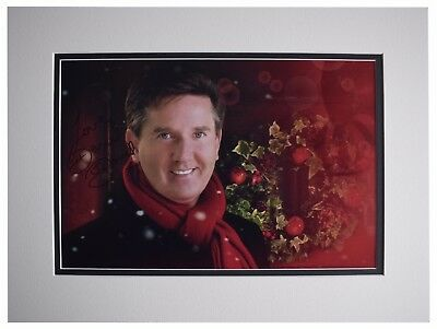 Daniel O'Donnell SIGNED Autograph 16x12 Photo Display Music Memorabilia COA • 49.99£