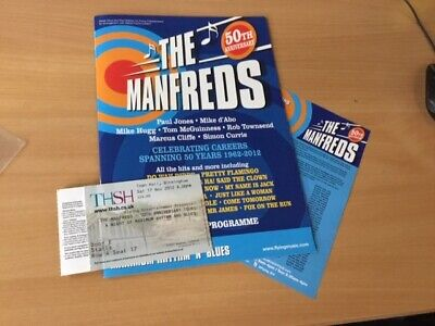 THE MANFREDS -  50TH ANNIVERSARY  - Tour Programme • 54.99£