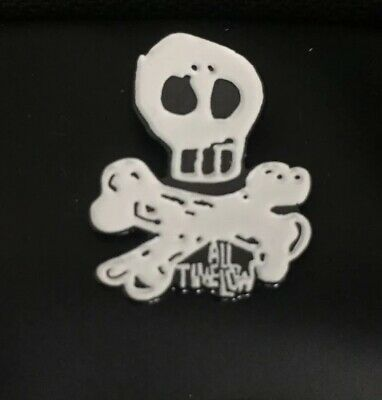 All Time Low Merch - Skully Enamel Metal Pin Rare Not Available In Uk • 14.99£