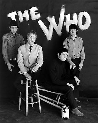 The Who 10  X 8  Photograph No 27 • 3.50£