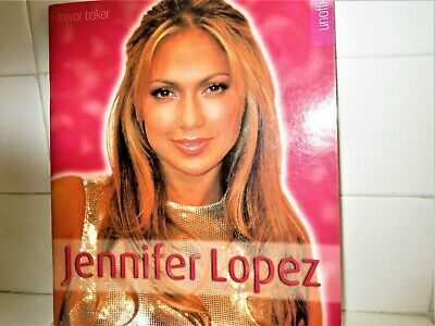 Jennifer Lopez J-lo 2001 England  Book 46 Pages Most Color Jlo 18 Years Ago • 11.84£