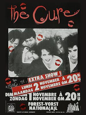 The Cure Belgian 16  X 12  Photo Repro Concert Poster No 2 • 5.50£