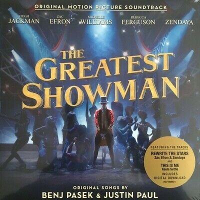 THE GREATEST SHOWMAN Film Soundtrack LP Vinyl (2017 NEW) This Is Me Keala Settle • 9.99£