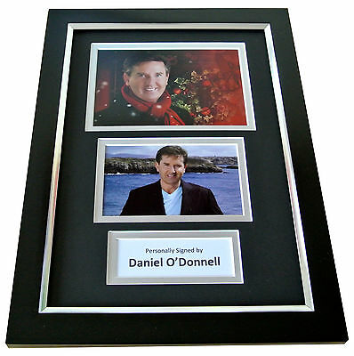 DANIEL O'DONNELL Signed A4 FRAMED Photo Autograph Display Ireland Music COA • 49.99£