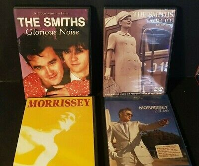 4 X The Smiths & Morrissey Dvds Blu Ray • 30£