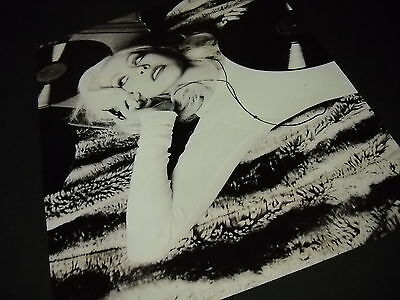 CHRISTINA AGUILERA Sensational In Black And White 2006 PROMO POSTER AD Mint Con • 7.90£