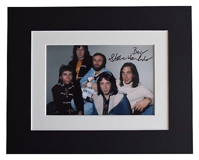 Steve Hackett  Signed Autograph 10x8 Photo Display Genesis Music AFTAL COA • 34.99£