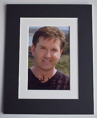 Daniel O'Donnell Signed Autograph 10x8 Photo Mount Display Irish Music AFTAL COA • 29.99£