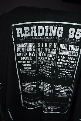 Reading Festival 1995 Retro T Shirt From Poster Idea Handmade  Vintage Look • 13.99£