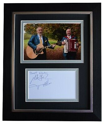 Foster & Allen Signed 10x8 Framed Autograph Photo Display Music Ireland & COA • 52.99£