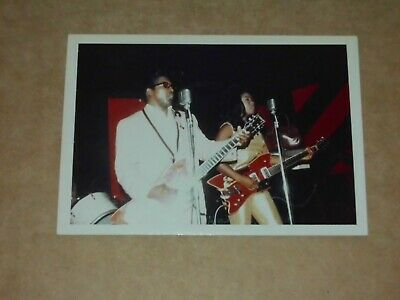 Bo Diddley & The Duchess 1965 Unpublished 5 X 3 Colour Photo • 35£