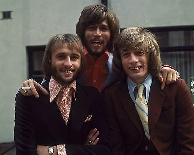 Bee Gees 10  X 8  Photograph No 34 • 3.50£