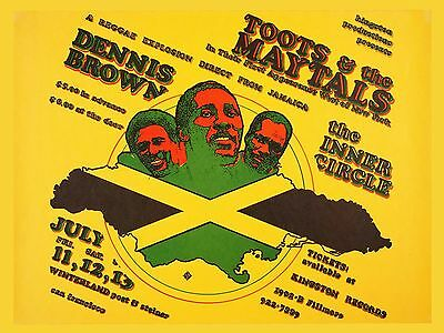 Toots And The Maytals 16  X 12  Photo Repro Promo Poster • 5.50£