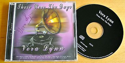 Dame Vera Lynn Hand Signed Autograph Those Were The Days Cd Ww2 Forces & Coa • 29.99£