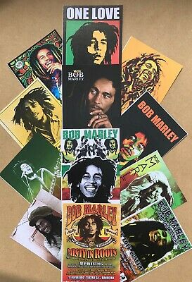 Set Of 22 Bob Marley Images Reproduced As Quality Postcards • 9.99£