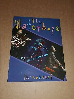 Waterboys  In Concert  2004 UK Tour Programme  • 10£