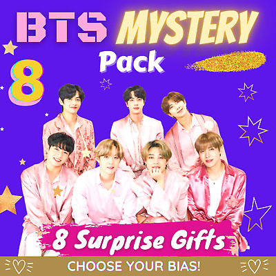 BTS Bias / ARMY Mystery Pack Containing 8 Surprise Gifts! • 21.99£