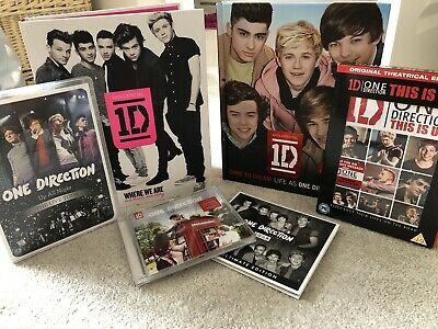 One Direction Bundle, CD's, DVD's, Books • 28£