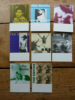 The Smiths - Collection Of 8 Cover Art Vintage Promotional Postcards • 30£