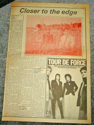 Joy Division Closer 1 Page Review From Sounds  July 1980  37/26cm • 9.99£