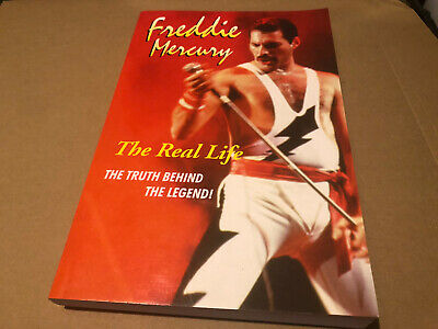 Queen Freddie Mercury The Real Life Softback (rare Red) Nr Mint • 62.50£
