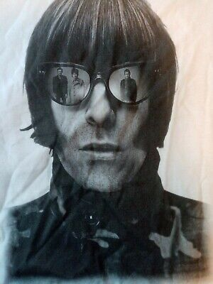 LIAM GALLAGHER MENS MUSIC T SHIRT OASIS Fruit Of The Loom Value-weight Vintage  • 4.99£